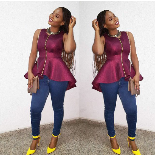 Yemi Alade Looking Very Different In Her New Hairstyle