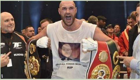 Tyson Fury stri*ped Of IBF Title Less Than Two Weeks After Winning It... See Why!!!
