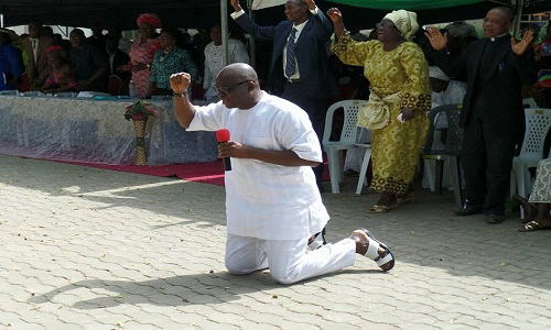 Those Plotting My Impeachment In 2016 Shall Be Disgraced - Fayose