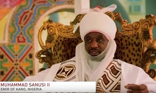 Image result for Emir of Kano, Muhammadu Sanusi.
