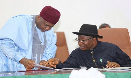 Presidency fired warning shots at former president, Goodluck Jonathan over his recent comments that his former NSA, Sambo Dasuki never stole $2.2b.