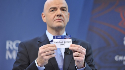 PSG vs Chelsea, Barcelona vs Arsenal; SEE The UEFA Champions League Last 16 Draw In Full