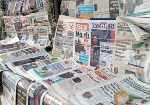 Nigerian newspaper headlines January 12