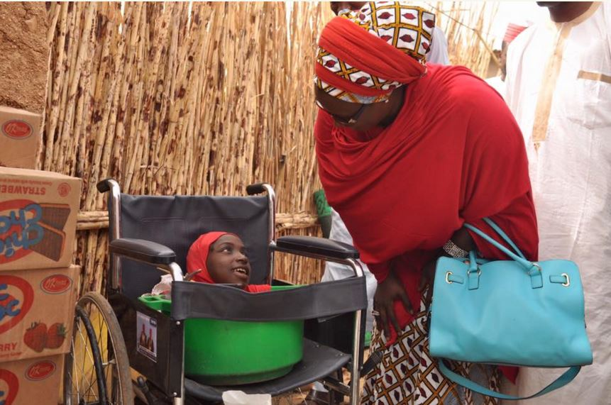 Girl Without Limbs Receives Help From Kano State Government [Photos] - INFORMATION NIGERIA