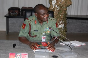 Chief of Army Staff-Tukur Buratai