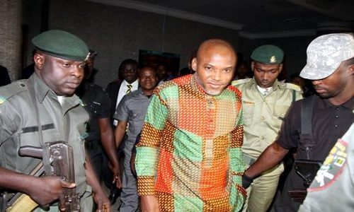 Biafra: Court denies Kanu, two others bail