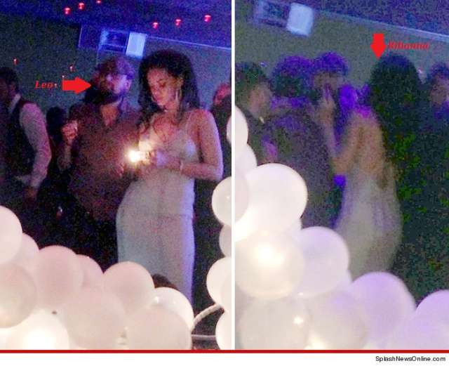 Photos: Rihanna Tongue Kissing Leonardo DiCaprio In Paris ...