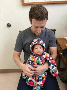 Facebook Owner, Mark Zuckerberg Takes Daughter For Vaccination [Photo]