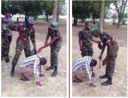 Nigeria Defence Academy Reacts To Viral Video Of Army