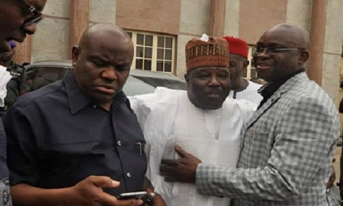 Authentic PDP chairman, Ali Modu Sheriff Vows to Deal With Fayose, Wike