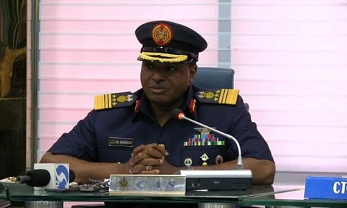 Chief of Air Staff-Air Marshal Sadique Abubakar