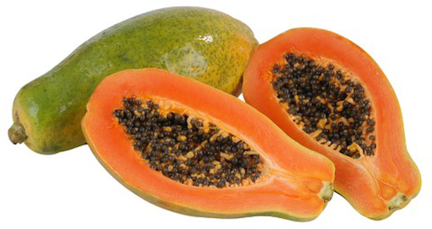 healthy frozen fruit paw paw fruit