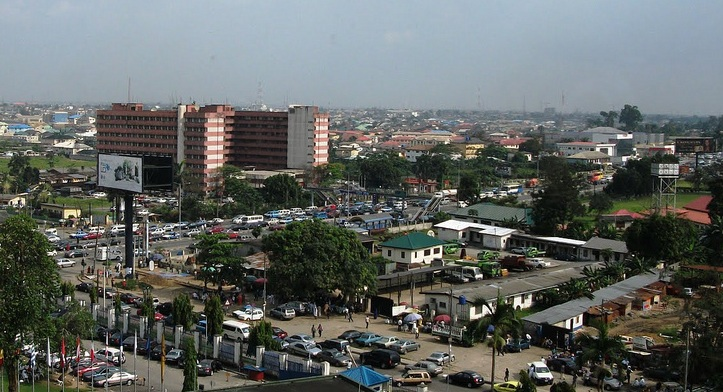 aerial view of port harcourt-hotels.ng