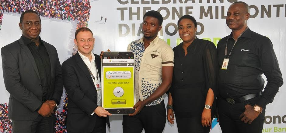 Our One Millionth Diamond Gets Rewarded With One Million Naira