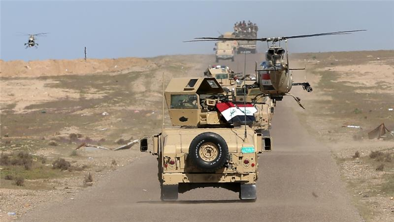 Iraqi forces take northern edge of IS-held town