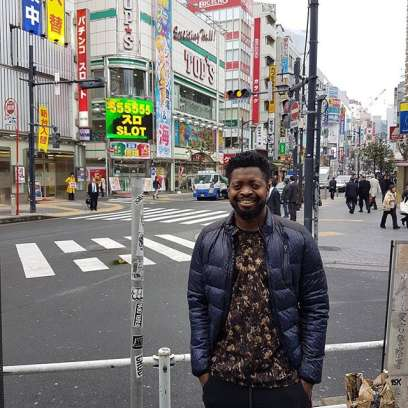 Fan Flew Basketmouth To Japan To Surprise Wife On Her 40th Birthday
