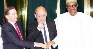 Buhari-French Defence Minister