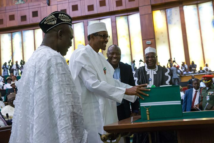Image result for Buhari to present 2017 budget to National Assembly members next week