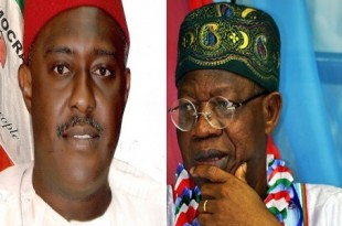Lai-Mohammed and Olisa Metuh