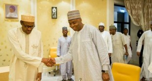 buhari-meets-saraki-and-dogara-over-budget