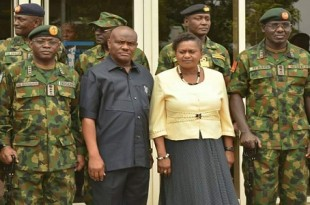 Nyesom Wike-Military Chiefs