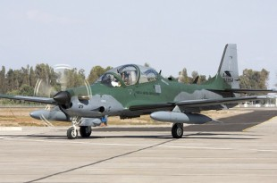 Super Tucano Aircraft