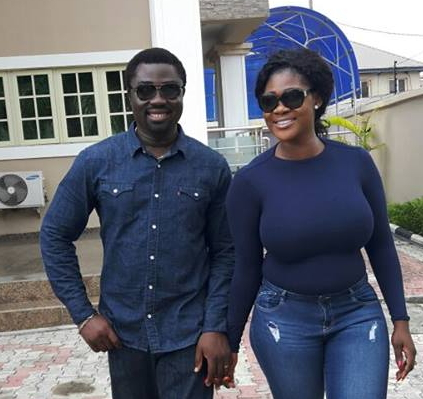 Mercy Johnson And Husband Step Out In Matching Outfits Information Nigeria