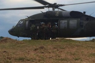 Colombian-military-helicopter-targeting-ELN-rebels-crashes-17-dead