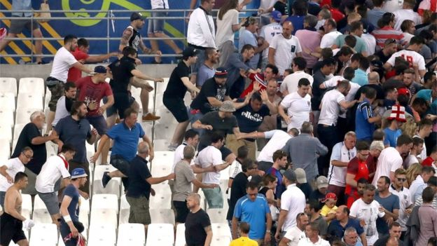 a discussion on the threat of fan violence on sport events Firstly, the council of europe adopted the european convention on spectator violence and misbehaviour at sports events, which proposed that measures should be taken to prevent and punish violent behaviour in sport.