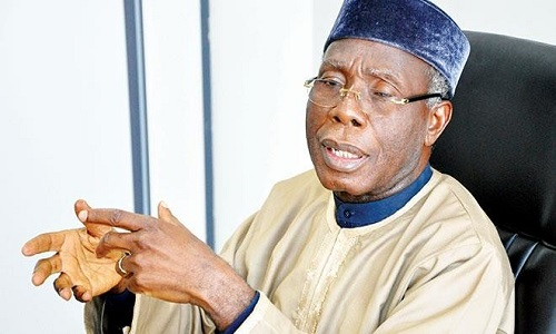 Minister of Agriculture and Rural Development-Audu Ogbeh