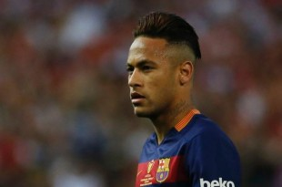 Barcelona Forward, Neymar Jr