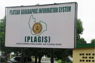 PLAGIS Sign Post