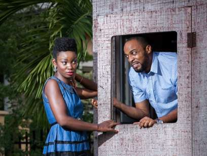 The British Nigerian Actor Was One Of Most Eligible Bachelors In Nollywood Before He Proposed To Ijeoma Last Year