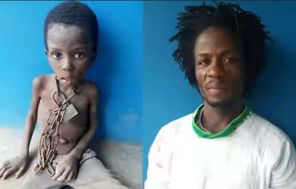 Celestial church of christ reacts to chained boy in ogun at last celestial church of christ worldwide under the leadership of his eminence pastor mobiyina oshoffa has issued an official statement signed by one publicscrutiny Gallery