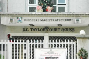Igbosere magistrate court