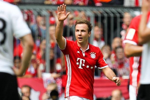 Mario Gotze In Shock Return To Borussia Dortmund