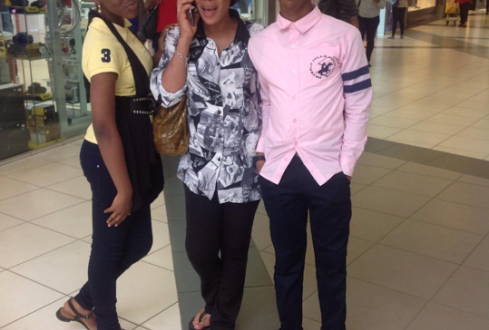 Actress Fathia Balogun and Her Kids Step Out in Style ...