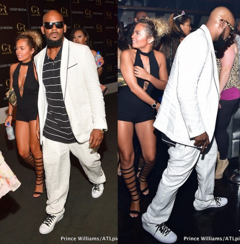 R Kelly Steps Out With His 19 Year Old Girlfriend