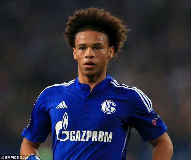new product c1cdf 2eab6 Manchester City Sign Leroy Sane For £37m - Information Nigeria