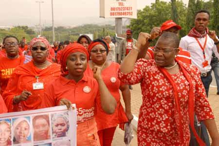 """UN Special Rapporteur on rights to freedom of peaceful assembly & association intervened to """"end harassment of #BringBackOurGirls - BBOG protesters"""