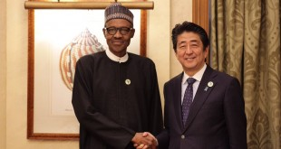 buhari and shinzo abe