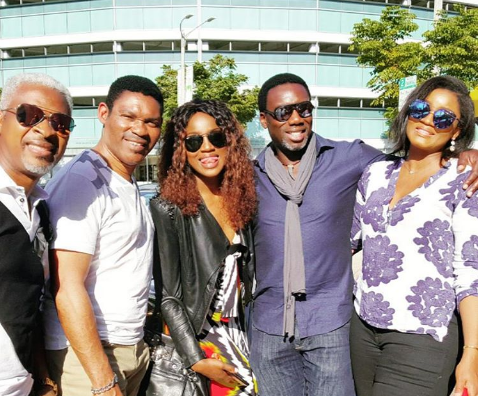 Omotola Jalade-Ekeinde & Family Holiday in the US ...