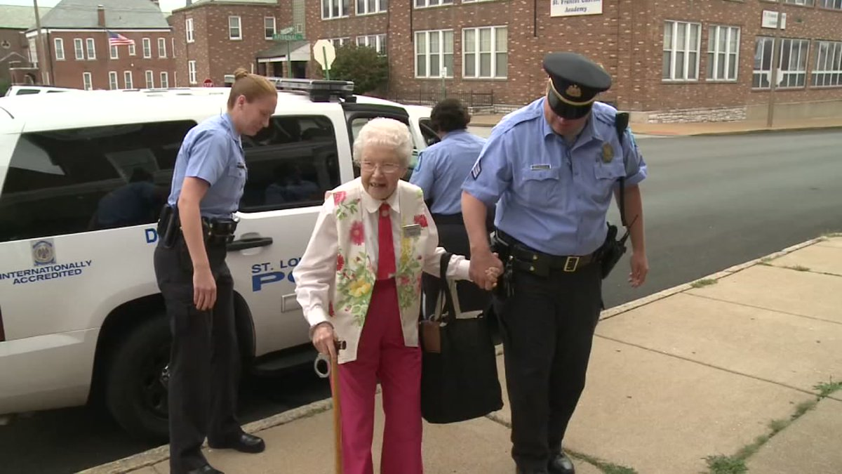 Woman Aged 102 Achieves Lifelong Dream of Getting Arrested