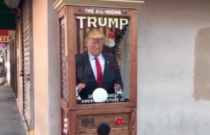 donald trump styled fortune telling machine found across new york