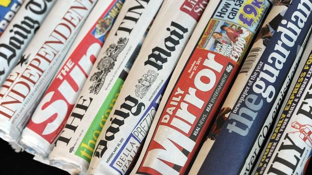 Nigerian Newspaper Headlines