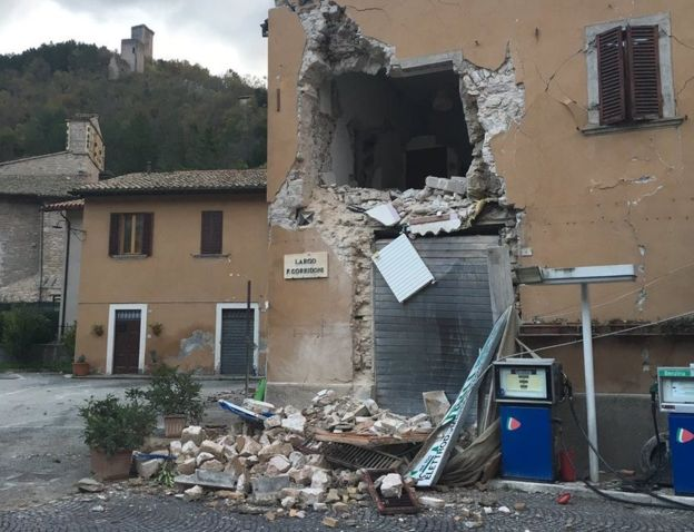 Earthquakes cause fear, injuries, widespread damage in central Italy
