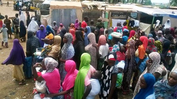 Army hand over rescued Chibok girl, son to Borno govt