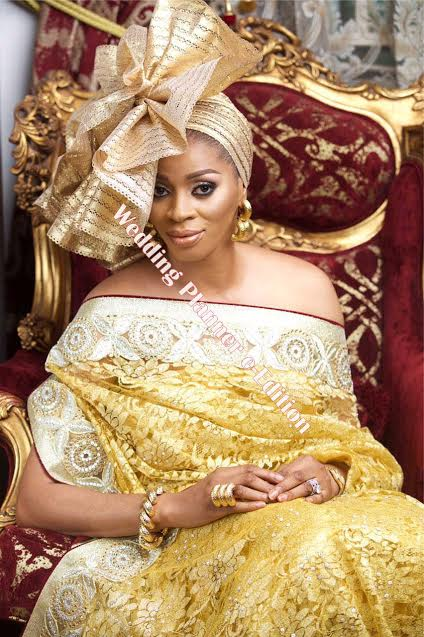 Sade Okoya Covers Wedding Planner Magazine S First Online