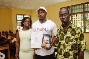 UNICAF AWARDS SCHOLARSHIP FOR A MASTER'S IN EDUCATION TO VISIONARY ICT TEACHER IN GHANA