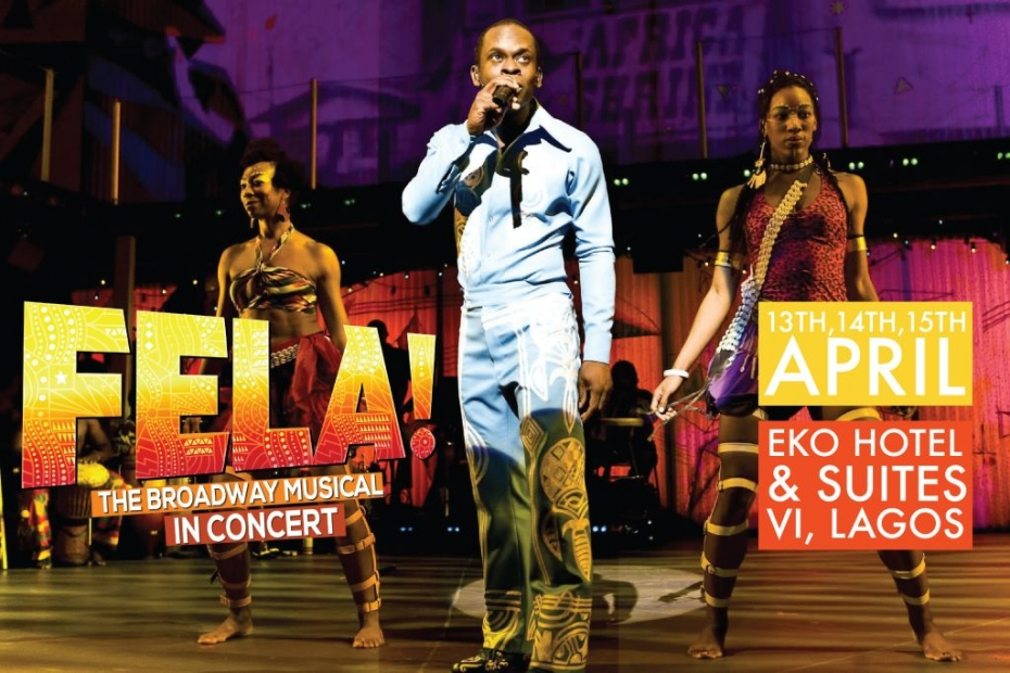 Image result wey dey for fela the broadway music concert